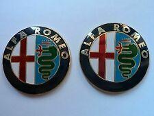2 Fregio Stemma Logo Emblema Anteriore  Alfa Romeo GTV 147 156 159 146 mito giul