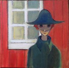 Originale künstlerische Malerein der Zeit Acryl Personen & Porträts