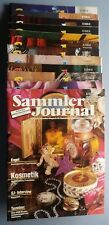 Sammler Journal 1993 12 Hefte Kunst Antiquitäten Glas Design Porzellan Uhren