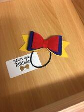 Snow White Inspired Hair Bows Disney Princess Hair Clip Hair Bobble