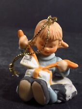 1997 Berta Hummel Goebel To A Good Girl Opening Package Ornament