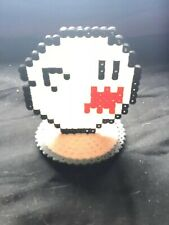 Hama Beads Super Mario Boo Glow In The Dark 3d Stand Up