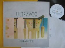 Ultravox Lp + insert - Quartet, original pressing