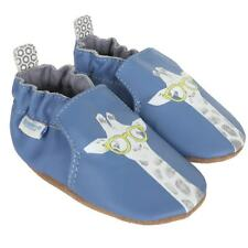 Robeez Genius Soft Soles Leather Baby Shoes, size 0-6 months