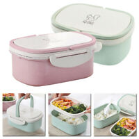 Portable Lunch Box Container Picnic Bento Foods Snack Fruit Storage Accessories