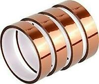 "3X 1"" (25mm) x 36yard Kapton® Adhesive Hi-Temp Heat Resistant Tape 2.5mil Thick"