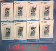 Wholesale Lot Of 24pc iPhone SE 5S 5C 5 Screen Protector Tempered Glass 9H