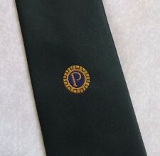 PROBUS INFORMATION CENTRE CLUB ASSOCIATION TIE VINTAGE 1980s 1990s DARK GREEN