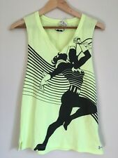 Under Armour Women's Fitted Batgirl Muscle Tank DC Comics Size Sm/P Neon Yellow