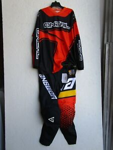 men's motocross combo set ANSWER ELITE KORZA pants 34,ONEAL jersey LARGE