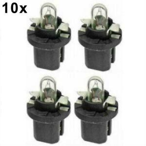 Mercedes Bulb W/ Black Socket Dash Instruments X10 Lamp Gauge Cluster Light