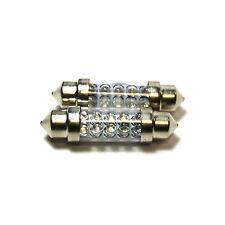 2x LED Ultra Verde Festoon [264] 42 mm 12 V Bombillas Luz Interior
