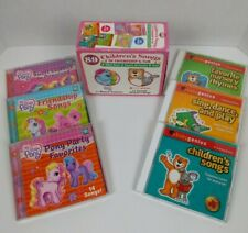 89 CHILDREN'S SONGS OF FRIENDSHIP & FUN MUSIC CDS My little Pony and Baby Genius