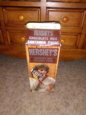 1985 Novelty Telephone Vintage Hershey's Chocolate Milk Container Phone Niob!