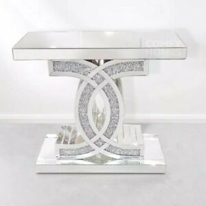 """Crushed Crystal """"C"""" Console Table - FREE DELIVERY AVAILABLE!"""