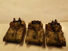 Expertly Painted WW2 1/72 Russian SU-76 SPG x 3+ AB Crews.