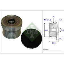 Alternator Clutch - INA 535 0183 10