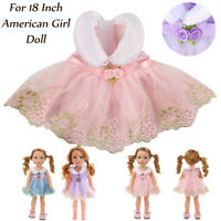 Beautiful Dress For 18 Inch American Doll Accessory Girl's Toy
