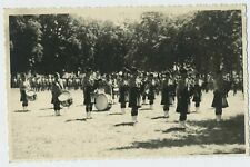 The Band of Cameron Highlanders Vintage WW2 Real Photograph Postcard R4