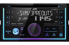 JVC 2-DIN SiriusXM Ready Bluetooth CD AM FM Car Stereo Receiver