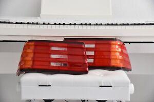 Genuine Mercedes-Benz Rear Lights Glasses Light Diffuser Set Sl R129 1989-1997