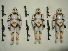 STAR WARS Vintage Collection CLONE TROOPER 212th BATTALION x3 Utapau VC38 MINT!
