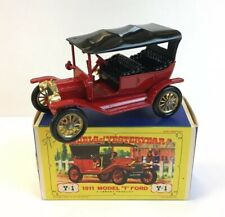 Matchbox Models Of Yesteryear 1911 Model 'T' Ford Y-1 Boxed 7.5cm In Length