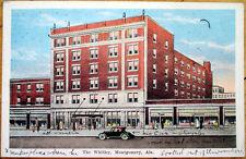 1927 Montgomery, AL Postcard: The Whitley - Alabama Ala