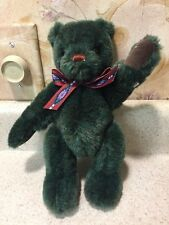 "9"" Gund Collector's Classic Green Bear"