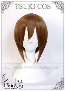 Digital Monster Digimon Adventure Yagami Hikari Anime Costume Cosplay Wig +Track