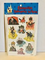 Vintage Walt Disney World Classic Disney Villains Temporary Tattoos Made In USA!