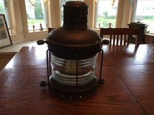 Antique Ships Latern with Ciervo Barcelona Glass Dome