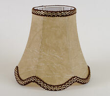 Lampenschirm Klassich Elegant Tischleuchte Nachttischlampe Aus Kunstleder E-14