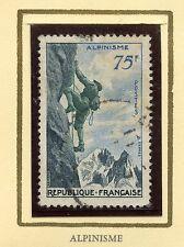 STAMP / TIMBRE FRANCE OBLITERE N° 1075 SPORT ALPINISME