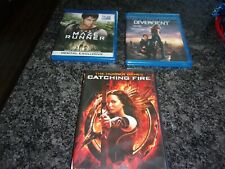 Science Fiction Lot Of 10 Dvds Star Wars Divergent Catching Fire The Maze, More