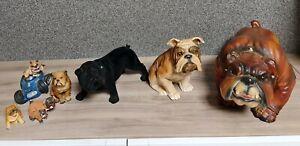 Bulldogge Figur Figuren Sammlung Bulldoggen französische amerikanische englische