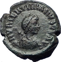 VALENTINIAN II 378AD  Authentic Genuine Ancient Roman Coin Wreath  i73672