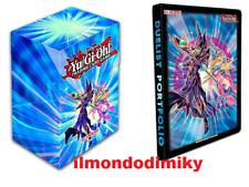 Yu-Gi-Oh! Portfolio 9 tasche Dark Magician porta mazzo verticale Dark Magician