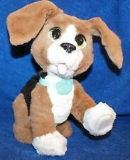 Fur Real Brown & White Dog Speaks Moves Head & Ears Whines & Other Functions