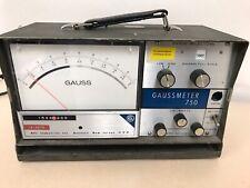 Rfl Industries 750 Portable Desktop Magnetic Flux Meter Magnetometer Gaussmeter