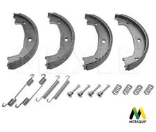 BMW 3 SERIES E46 E90 HAND BRAKE PARKING SHOES SET & FITTING KIT MOTAQUIP OE