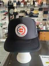 Trucker Snapback North Face Logo Black Mesh Vented Hat Otto Collection New