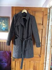 Marks And Spencer Spotted Coat Size 16