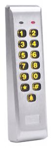 Linear 212iLM-AL, Indoor/Outdoor Mullion-mount Weather Resistant Keypad