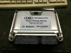 Audi TT S3 Seat Cupra R BAM 225 ECU Remapped Stage 2 Immo Off (280HP-300HP)