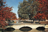 Rare Vintage Scenic Postcard 'Bourton-on-the-Water' England Unposted (1972).