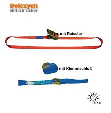 DOLEZYCH Zurrgurt DIN 12195-2 Länge 4 m Breite 25 mm mit Ratsche 16250700