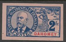 RARE - DAHOMEY 1906 YT 31(*) - NON DENTELEE - IMPERF - COTE 270,00 €