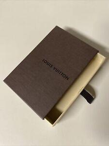 "Louis Vuitton Gift Box Empty LV Pull Drawer 5.5"" x 4"" x 1""Vintage"