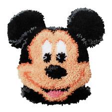 Disney's Mickey Mouse Shaped Cushion Latch Hook Kit